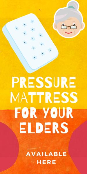 pressure mattress for the elderly
